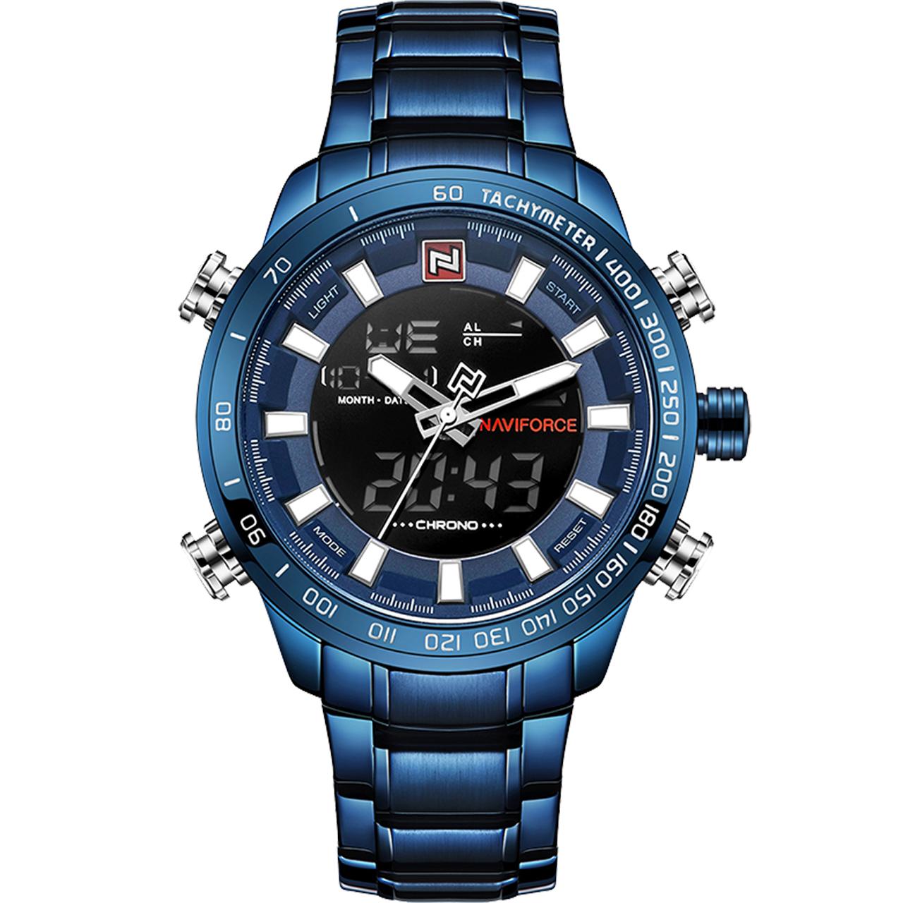 ساعت مچی عقربه ای مردانه نیوی فورس مدل NF9093BEBE