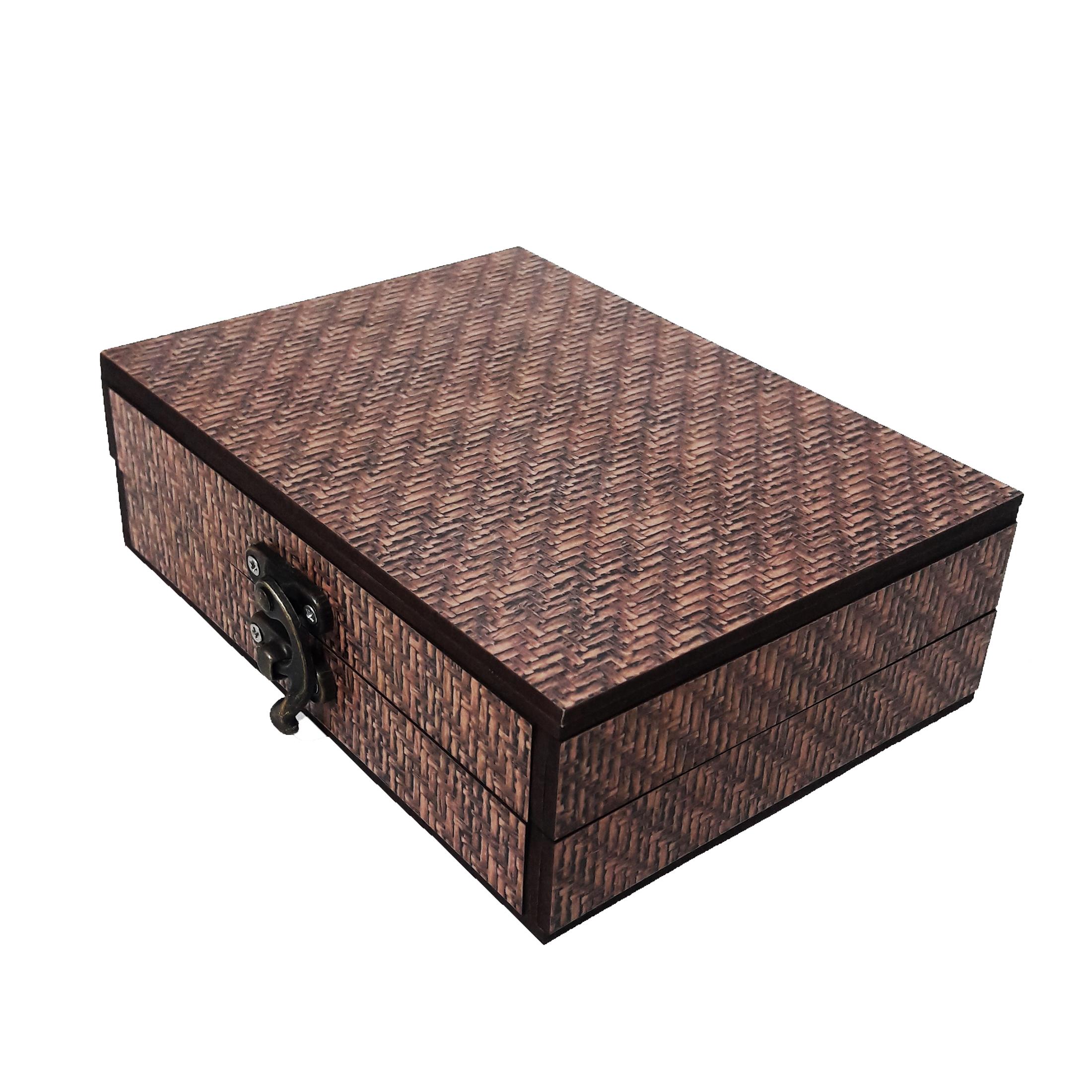 جعبه هدیه چوبی کادو آیهان باکس مدل 117