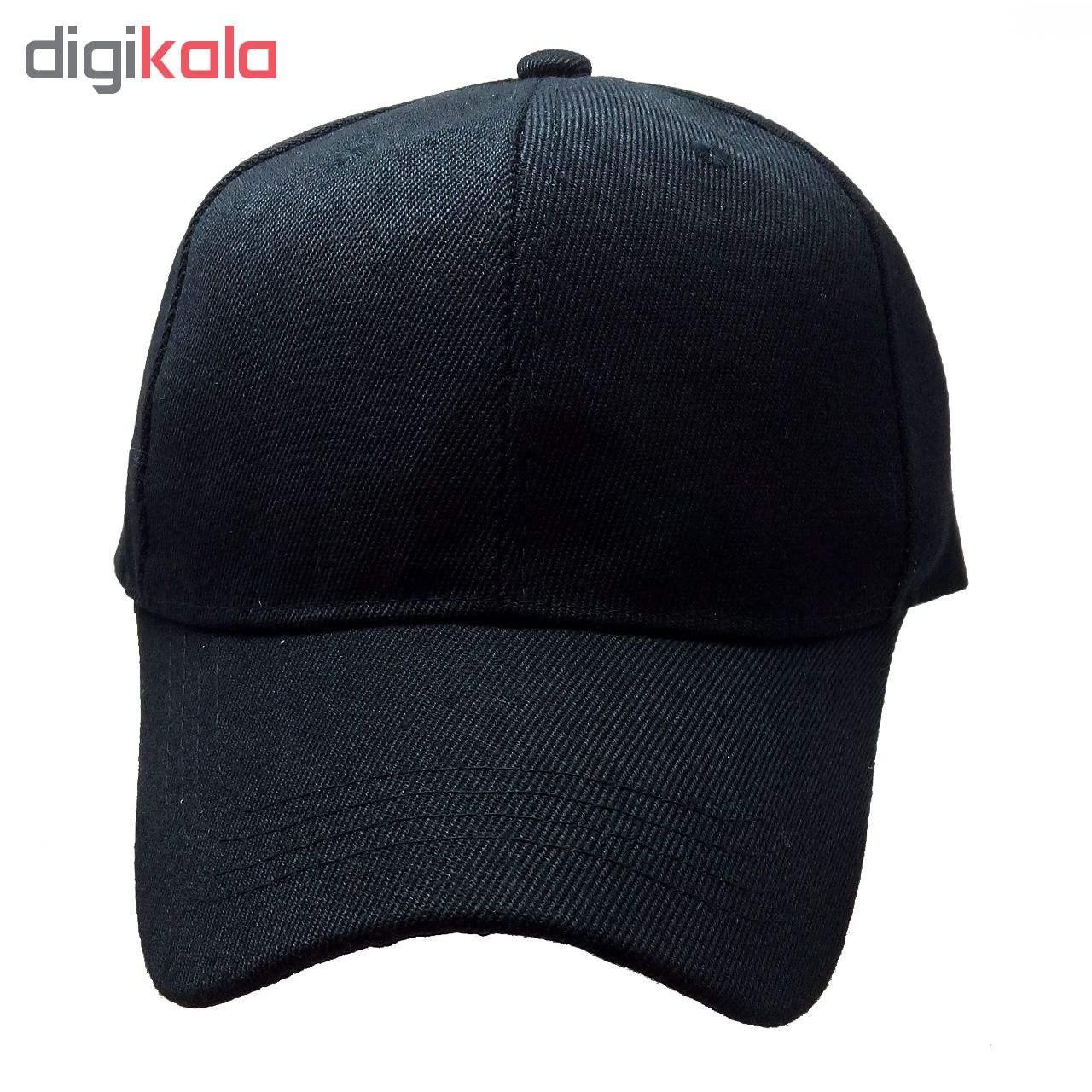 کلاه کپ مردانه کد M100 main 1 2