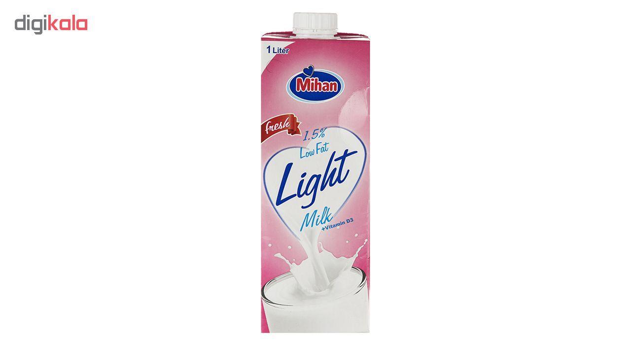 شیر کم چرب میهن - بسته 4 عددی