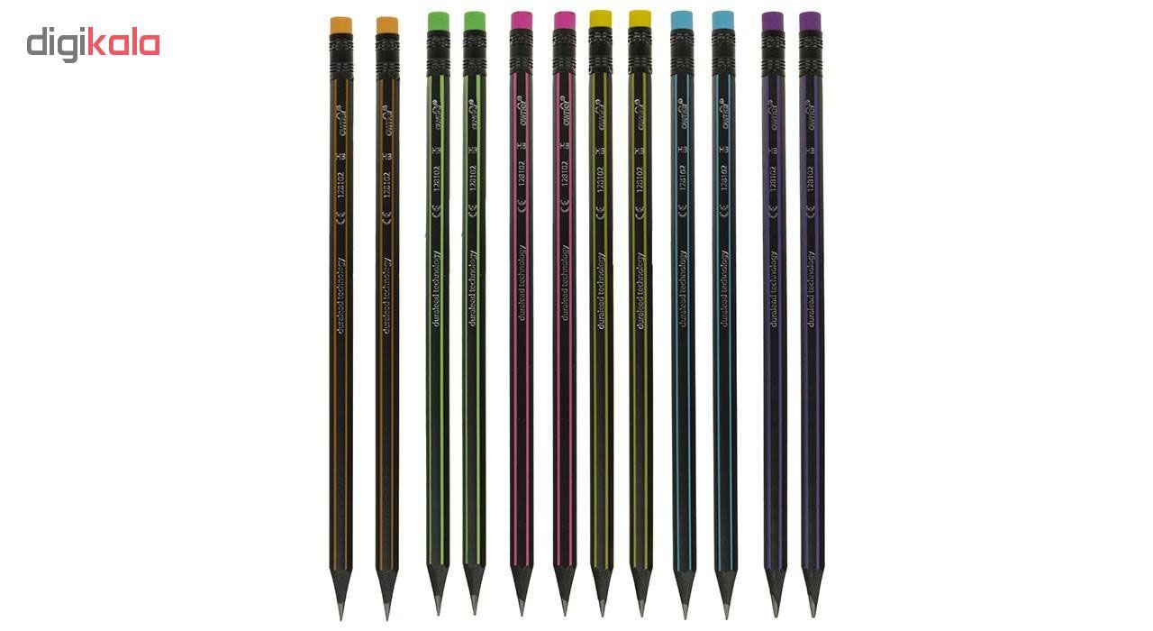 مداد مشكي اونر مدل 765 بسته 12 عددي
