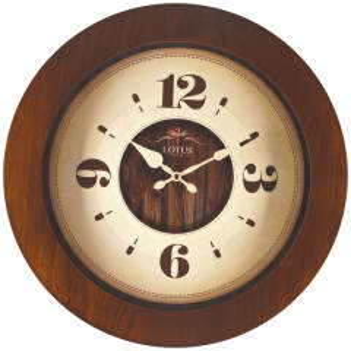 ساعت دیواری لوتوس کد 9824