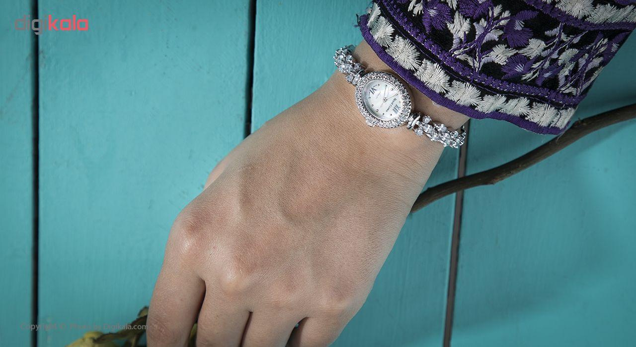 ساعت مچی عقربه ای نقره زنانه رویال کرون مدل RC1516-2