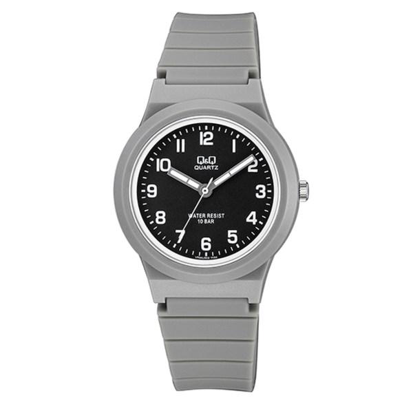 ساعت مچی عقربه ای پسرانه کیو اند کیو مدل vr94j002y  به همراه دستمال مخصوص برند کلین واچ