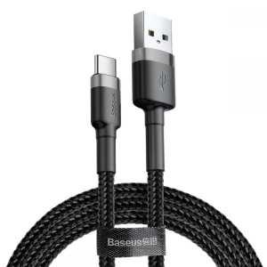 کابل تبدیل USB به USB-C باسئوس مدل CATKLF-CG1 Cafule طول 2 متر              ( قیمت عمده )