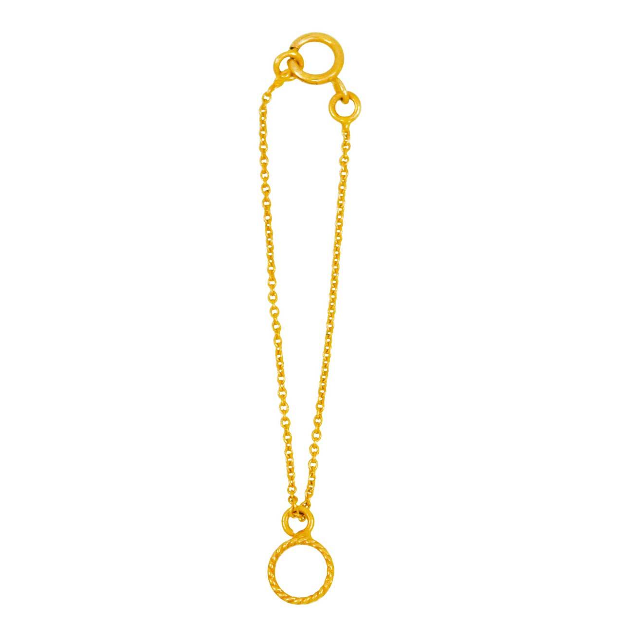 آویز ساعت طلا 18 عیار کانیار گالری مدل AS22