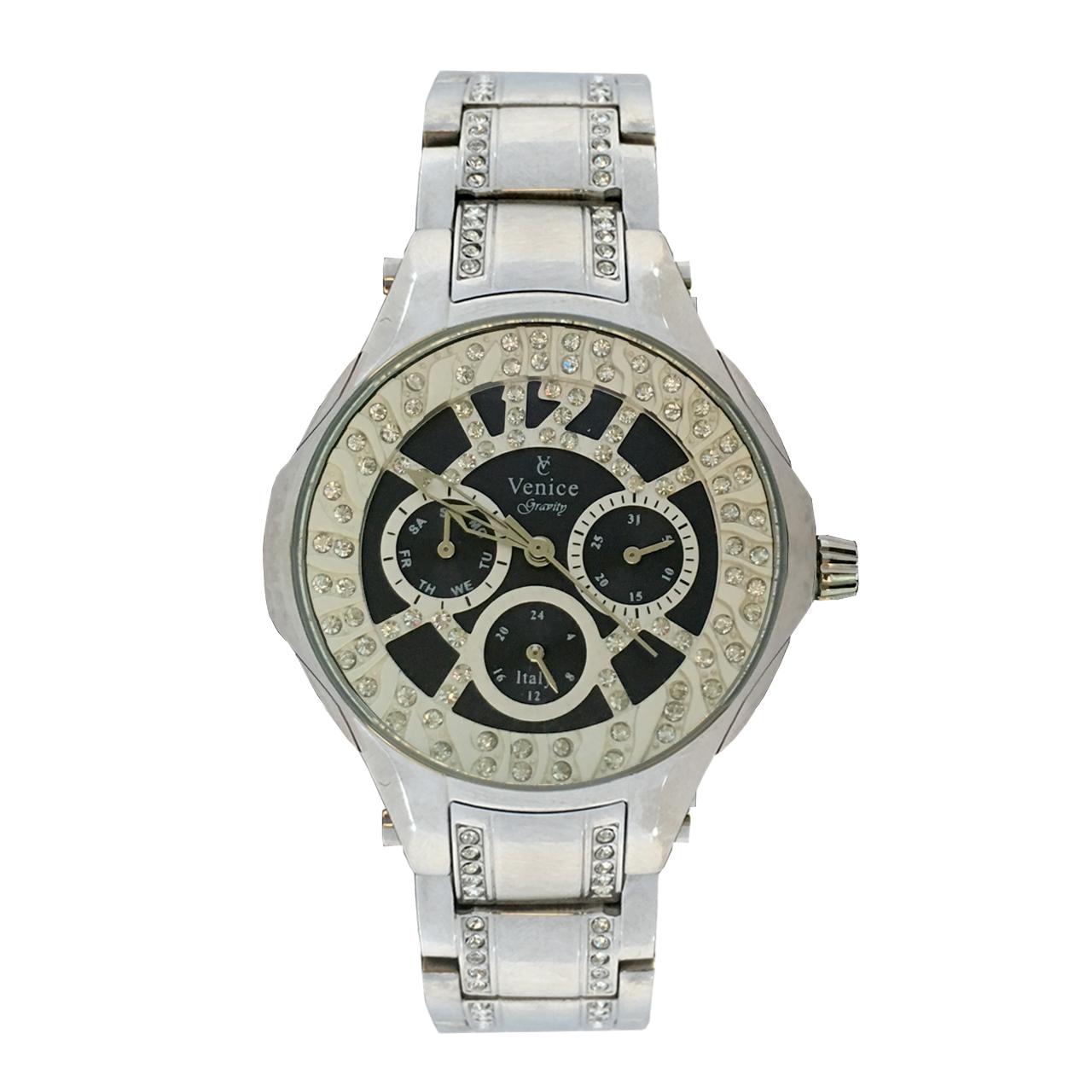 ساعت مچی عقربه ای زنانه ونیز مدل SV4005 9