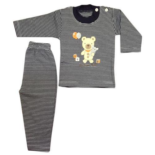 ست 2 تکه لباس نوزادی طرح تدی کد 02bd