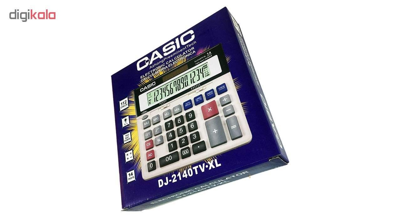 ماشین حساب کاسیک مدل DJ-2140TV.XL thumb 5