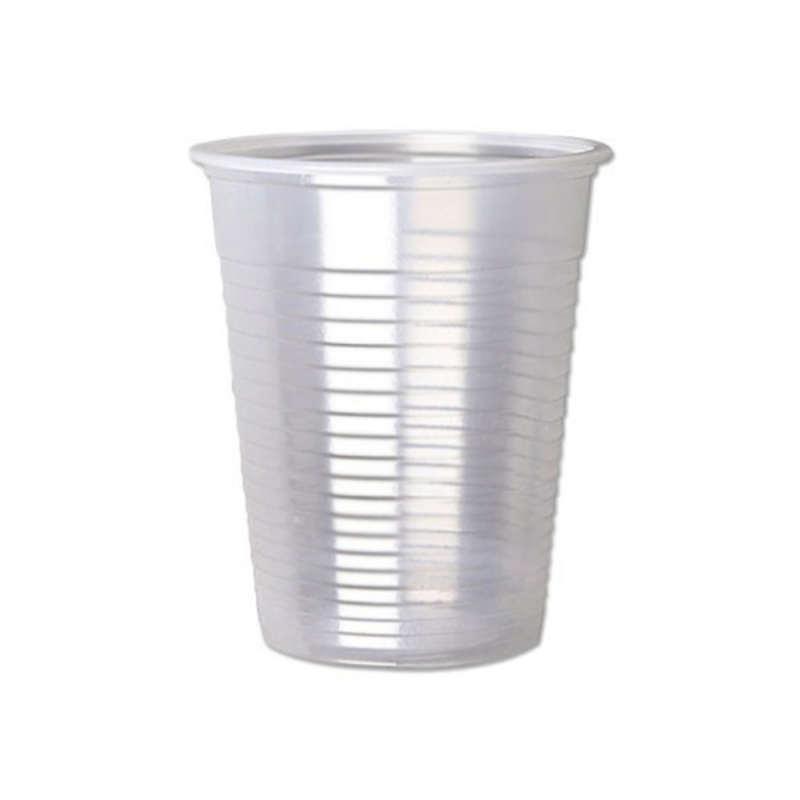 لیوان یکبار مصرف نیک پلاستیک تمیزی کد 0200 بسته 500 عددی