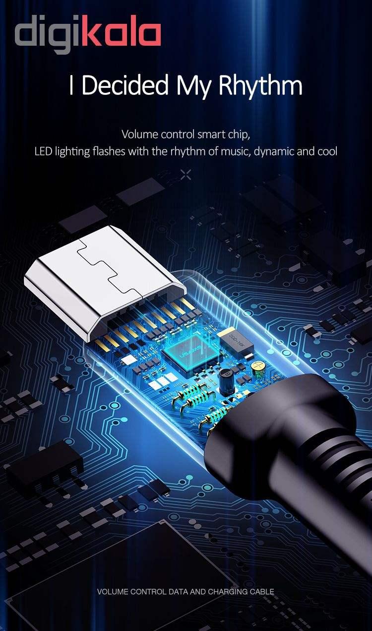 کابل تبدیل USB به microUSB یوسمز مدل US-SJ288 طول 1 متر main 1 9
