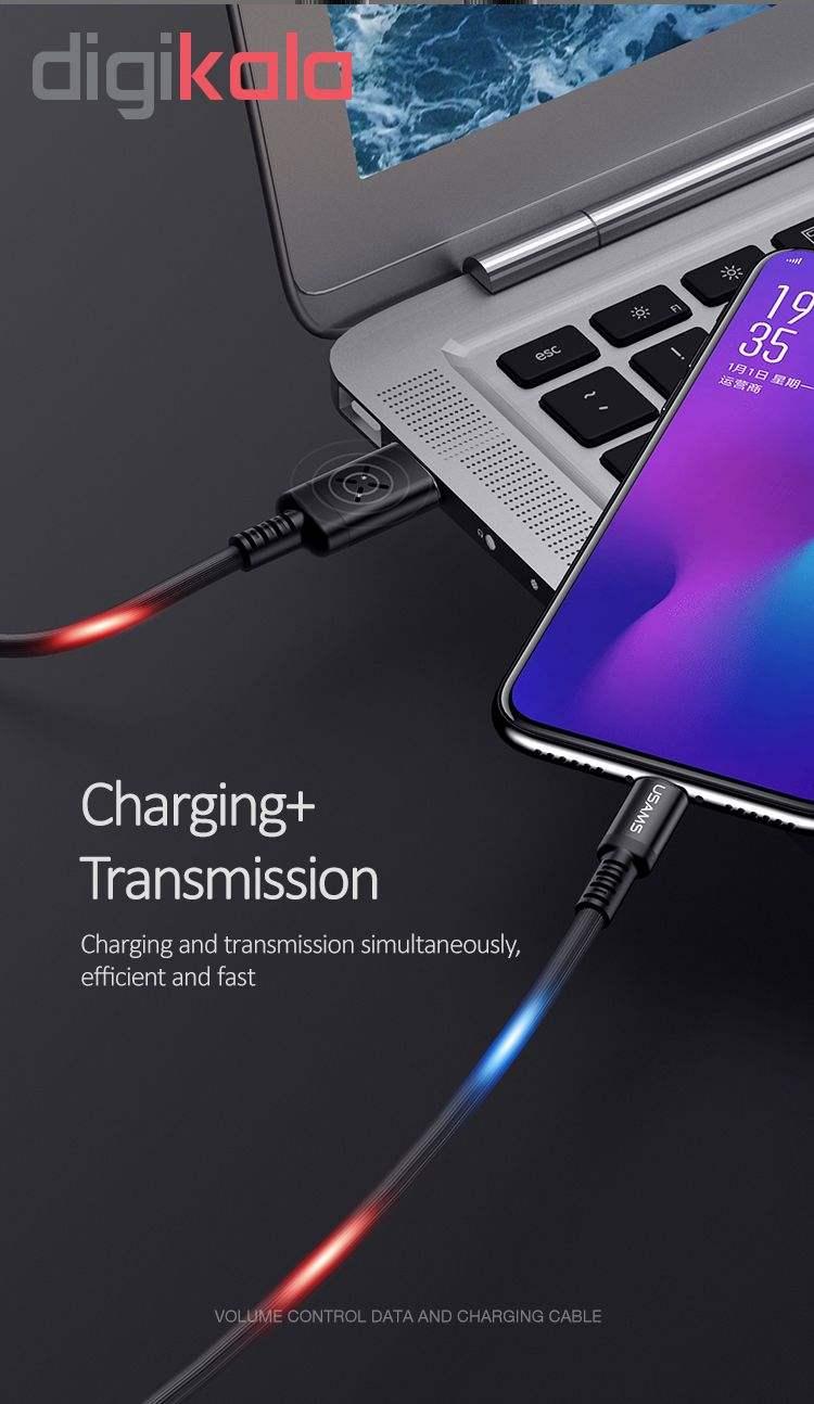 کابل تبدیل USB به microUSB یوسمز مدل US-SJ288 طول 1 متر main 1 11