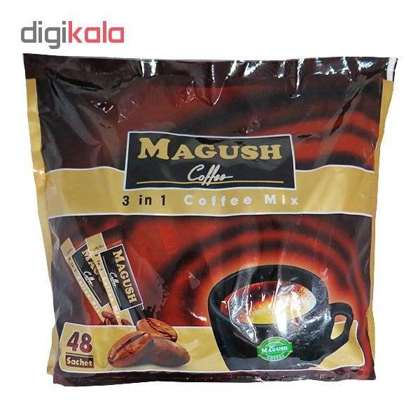 پودر مخلوط قهوه فوری ماگوش بسته 48 عددی main 1 1