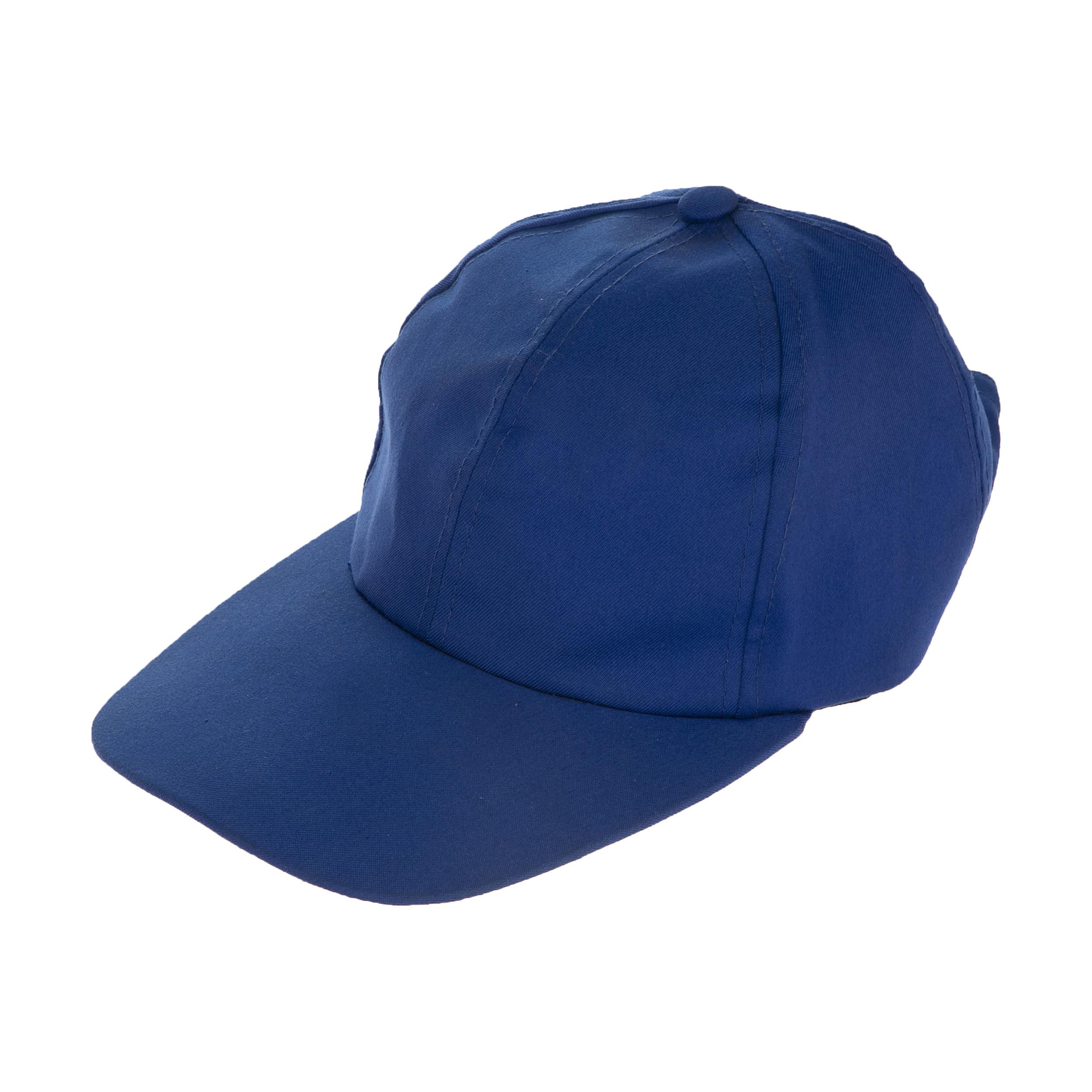 کلاه کپ مردانه سبلان کد FT1 آبی