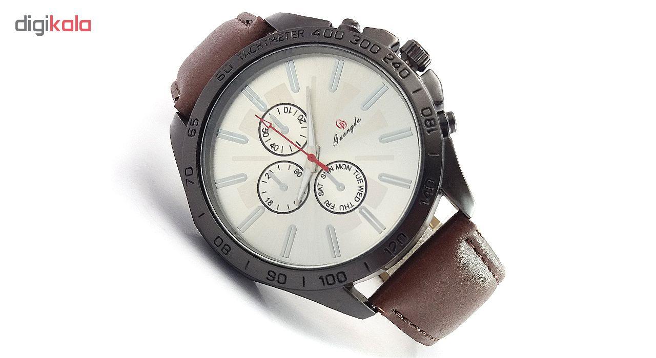 خرید ساعت مچی عقربه ای مردانه گوانگدا کد V874