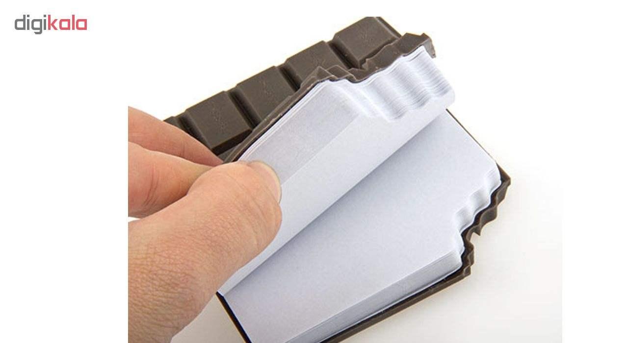 دفتر یادداشت طرح شکلات thumb 2