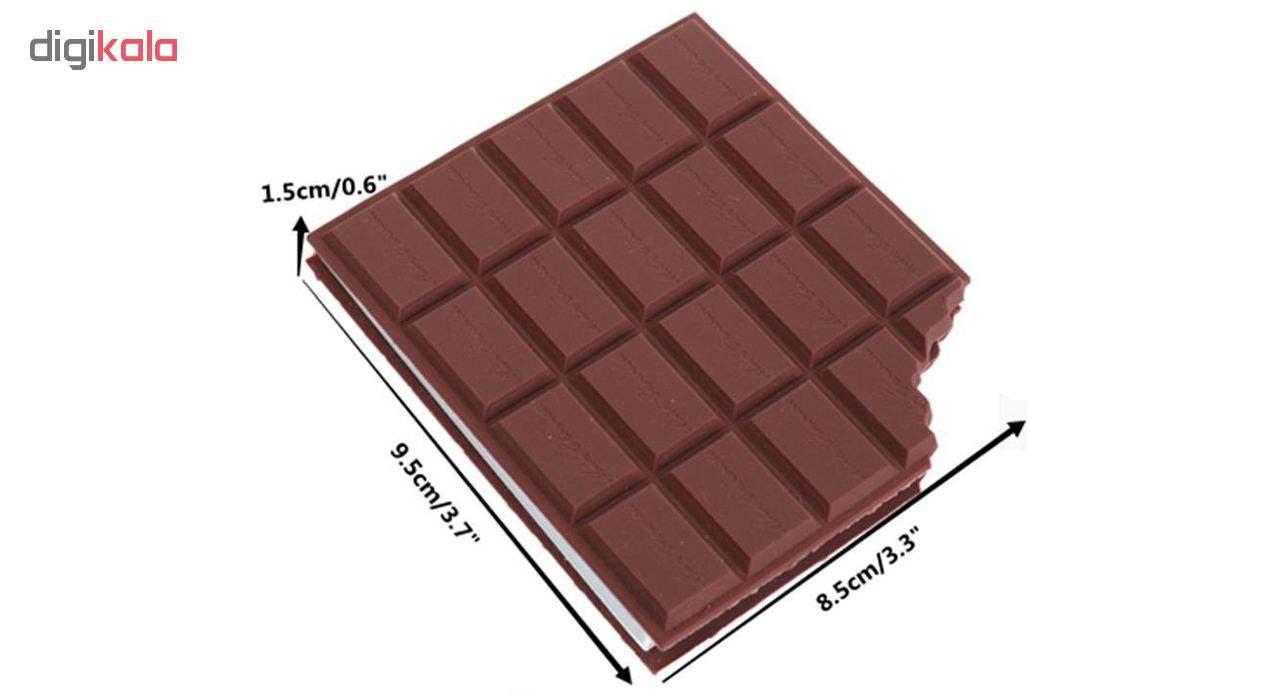 دفتر یادداشت طرح شکلات thumb 3