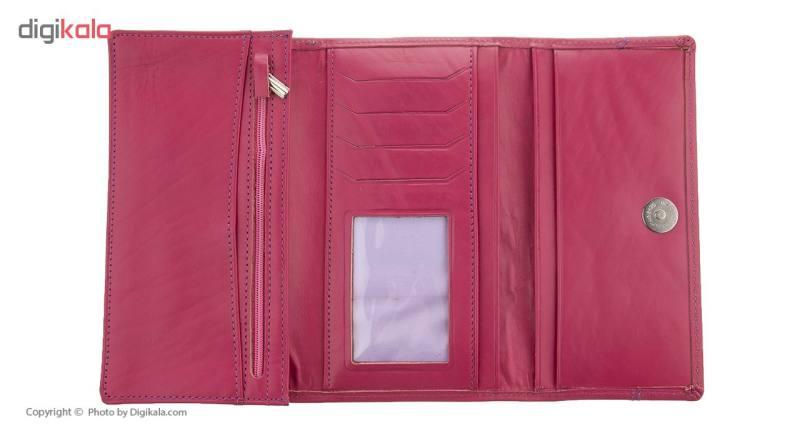 کیف پول زنانه چرم آرتان کد AR02001f