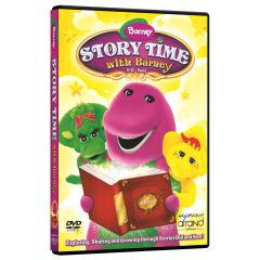 ویدئو آموزش زبان انگلیسی Barney Story Time With Barney انتشارات نرم افزاری افرند