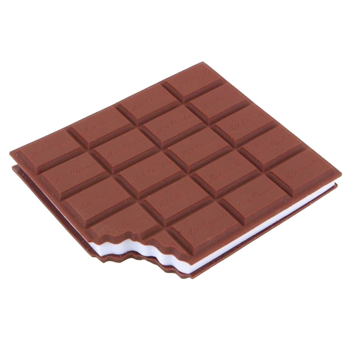دفتر یادداشت طرح شکلات