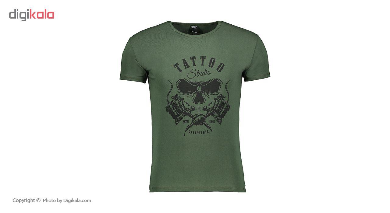 تی شرت مردانه حسین زاده مدل T.baz.184