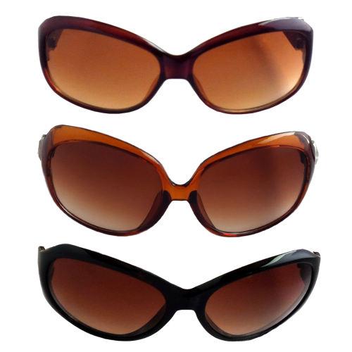 عینک آفتابی زنانه کد G440 مجموعه 3 عددی