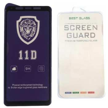 محافظ صفحه نمایش Full cover مدل 11D BEST GLASS مناسب برای گوشی موبایل سامسونگ Galaxy A9 Pro 2019