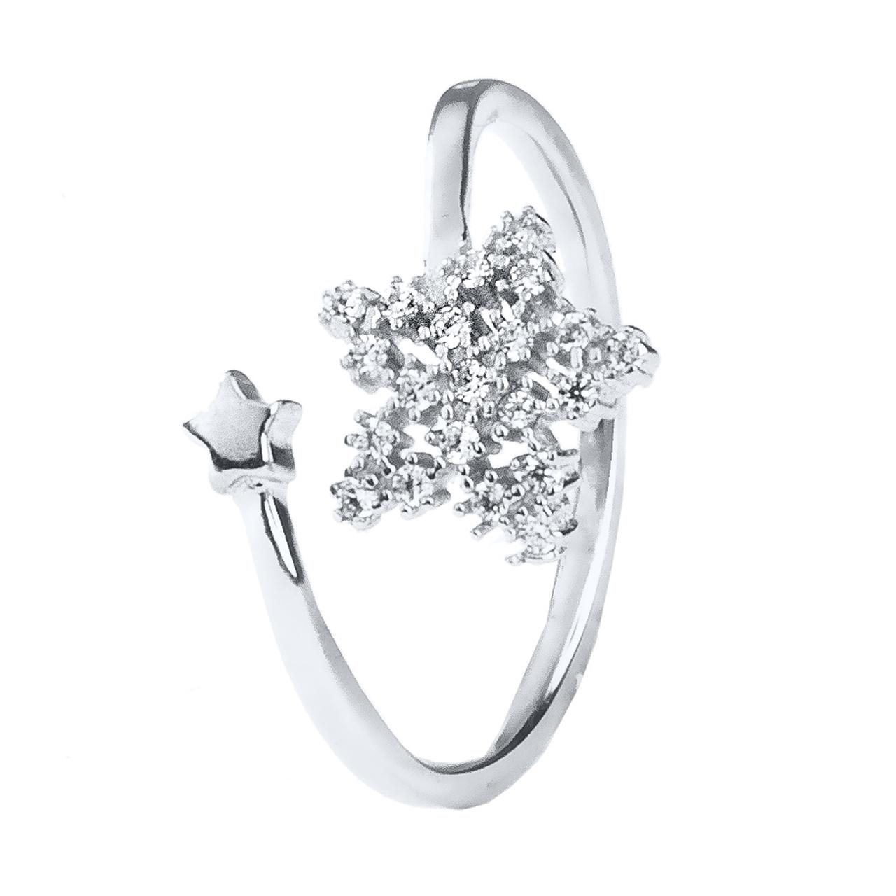 انگشتر نقره زنانه اقلیمه کد AN56