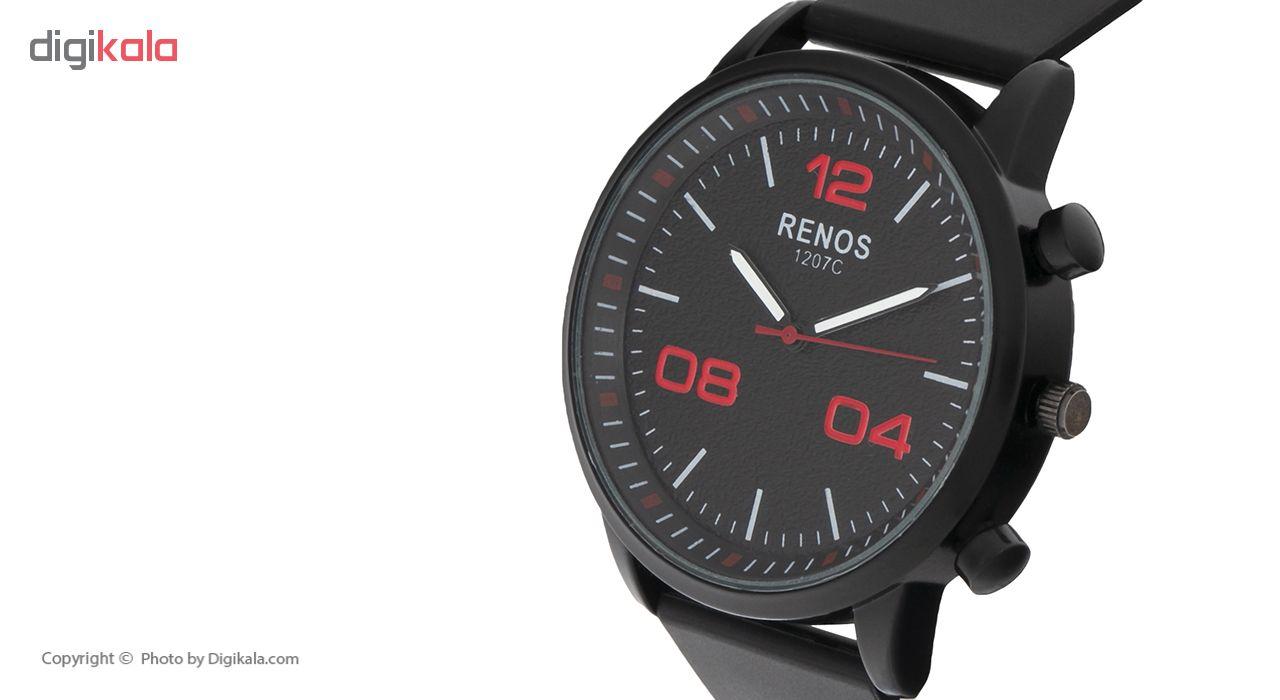 خرید ساعت مچی عقربه ای مردانه رنوس مدل R-6572 | ساعت مچی
