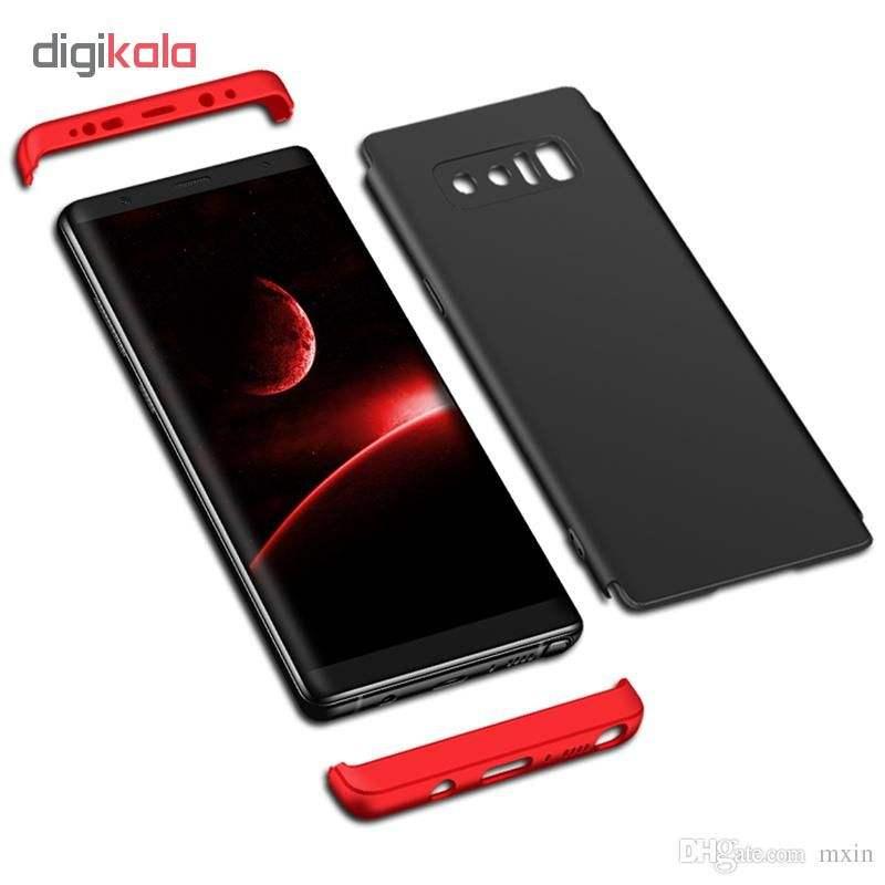 کاور 360 درجه جی کی کی مدل G-02 مناسب برای گوشی موبایل سامسونگ Galaxy S8 main 1 1