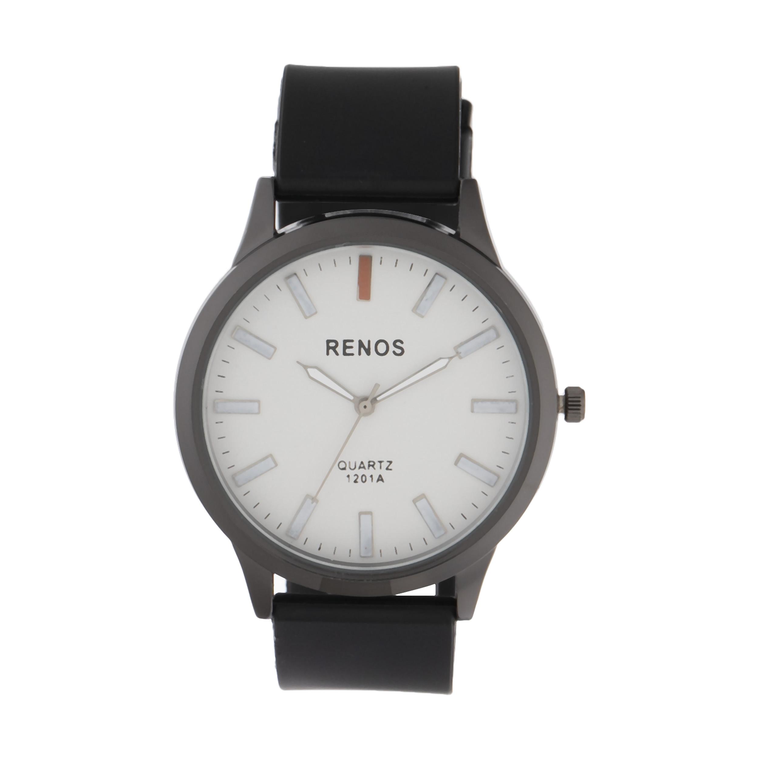 کد تخفیف                                      ساعت مچی عقربه ای مردانه رنوس مدل R-6585