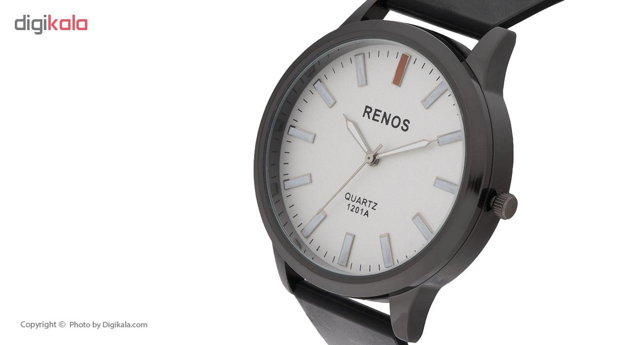 خرید ساعت مچی عقربه ای مردانه رنوس مدل R-6585 | ساعت مچی