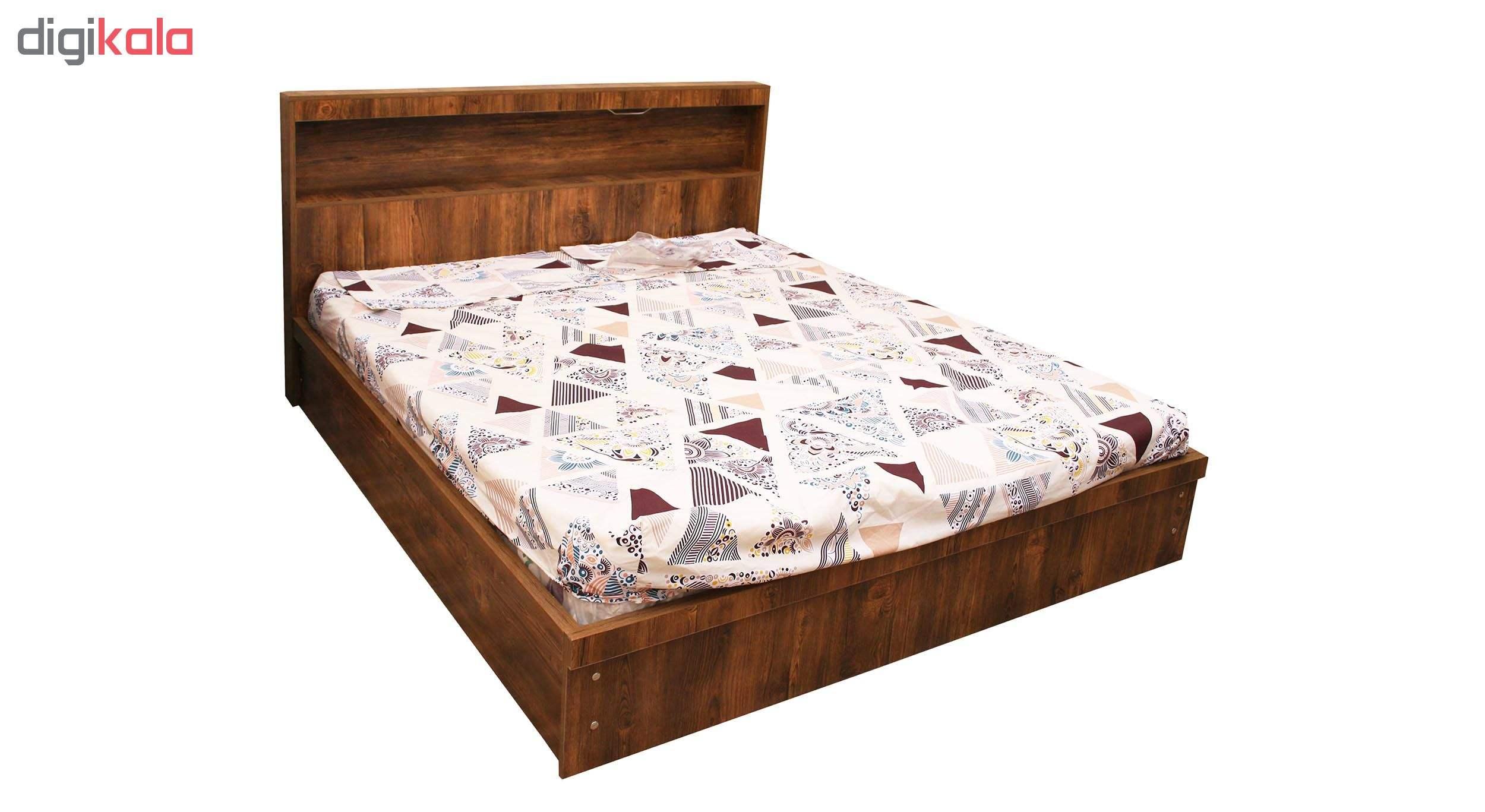 تخت خواب 2 نفره کد MD012 سایز 160×200 سانتی متر main 1 1
