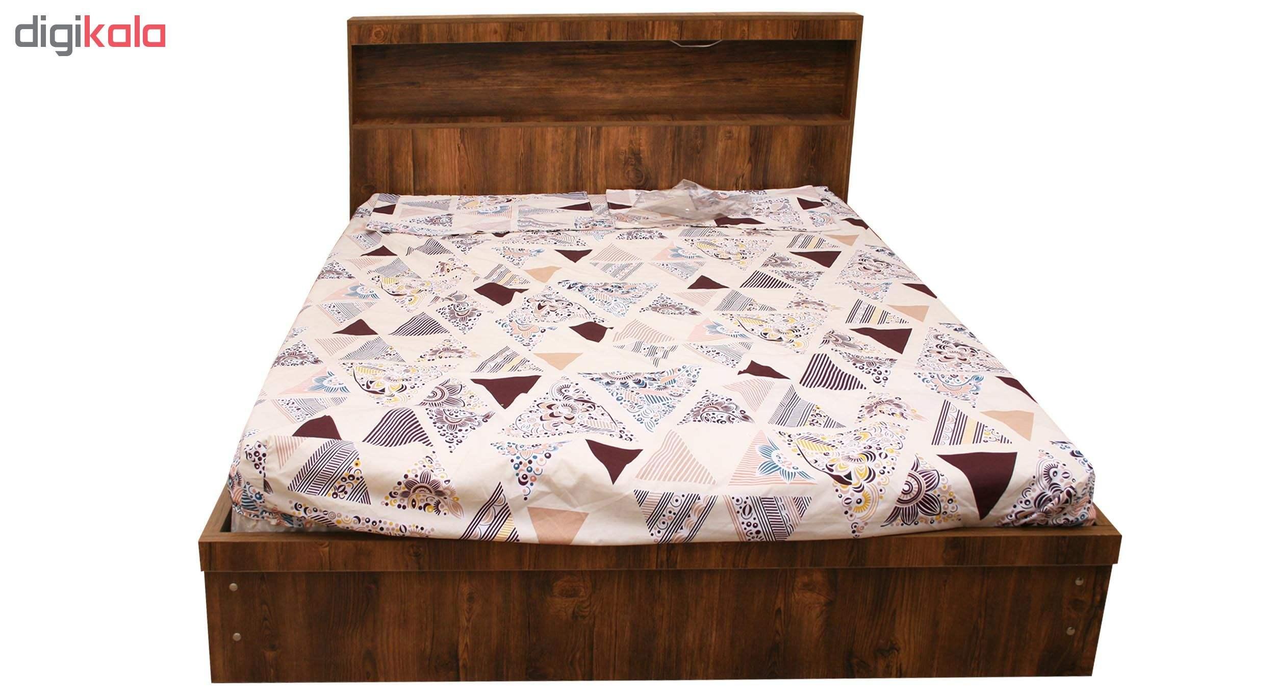 تخت خواب 2 نفره کد MD012 سایز 160×200 سانتی متر main 1 2
