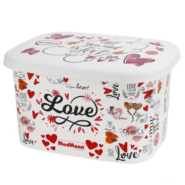 جعبه اسباب بازی کودک مدمان طرح قلب کد2