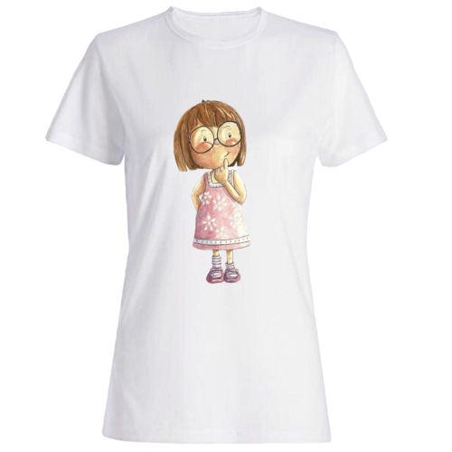 تیشرت دخترانه طرح دختر بچه کد 28