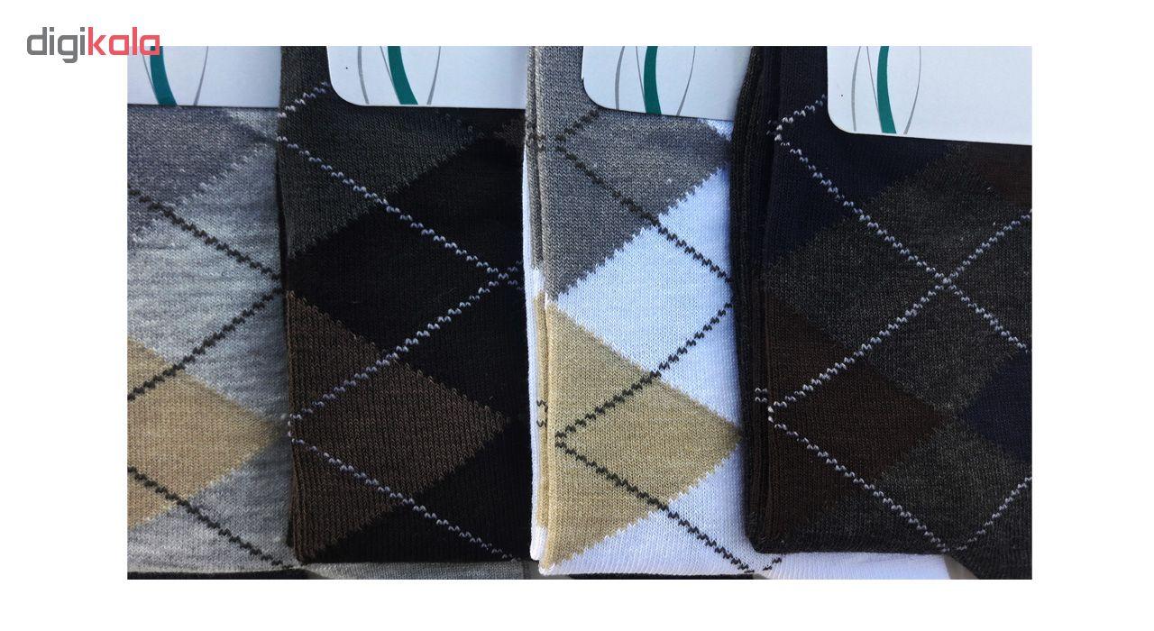 جوراب مردانه زند کد 26 مجموعه 6 عددی main 1 1