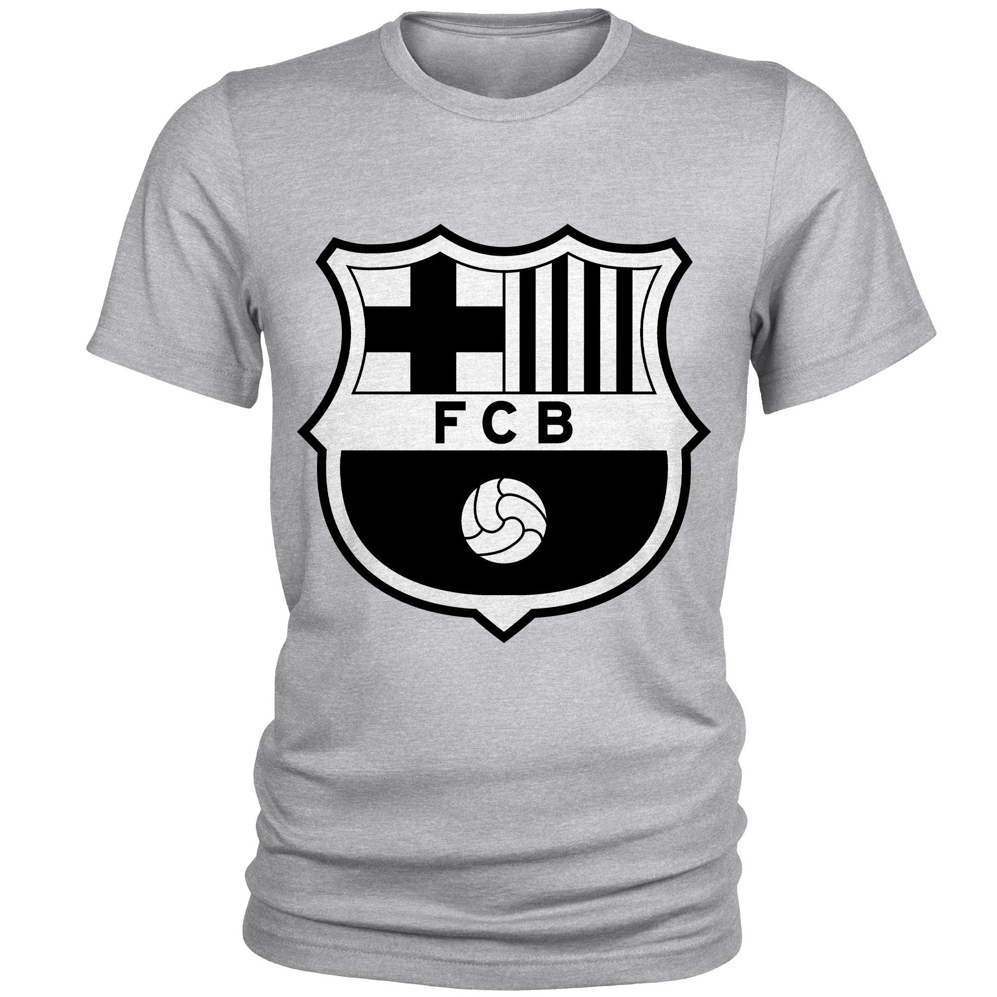 تیشرت مردانه طرح بارسلونا کد S69
