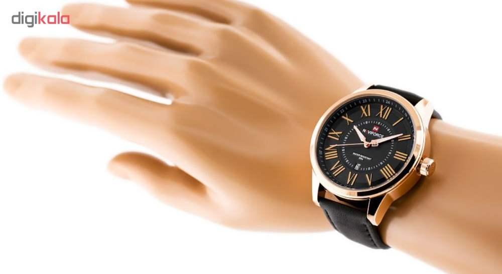 خرید                                     ساعت مچی عقربه ای مردانه نیوی فورس مدل NF9126 / RGBB