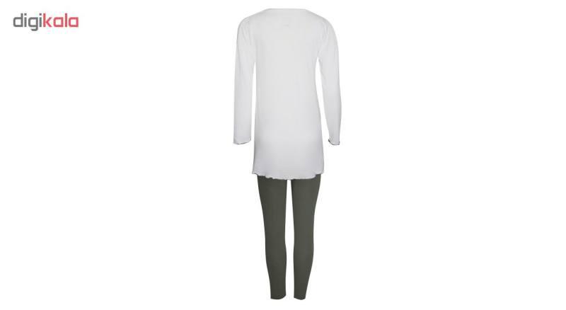 ست تی شرت و شلوار  زنانه اینفیوره مدل 365V