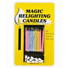 خرید                     شمع تولد جادویی کد 007 بسته 10 عددی