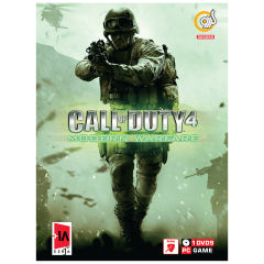 بازی گردو Call of Duty 4 Modern Warfare مخصوص PC