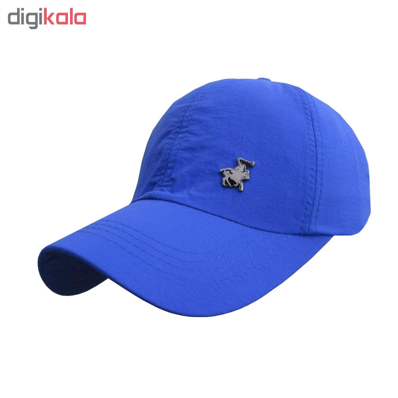کلاه کپ مردانه مدل PL-01 کد 202 رنگ آبی thumb 1