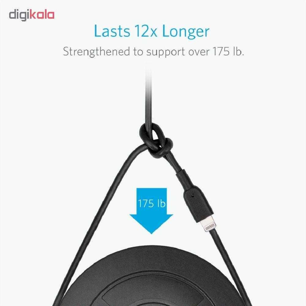 کابل تبدیل USB به لایتنینگ انکر مدل A8431  طول 0.3m main 1 3
