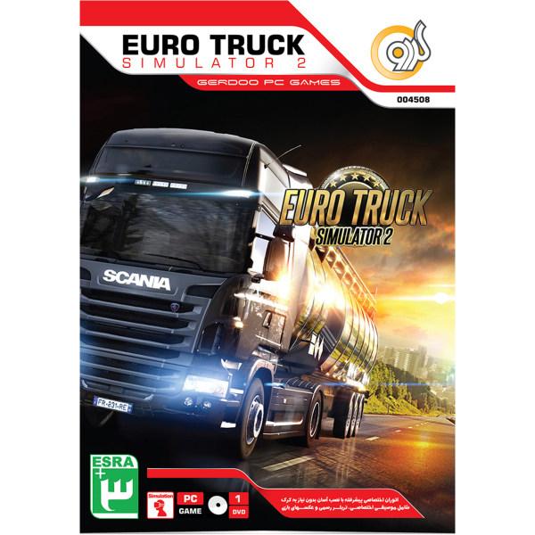 بازی گردو  Euro Truck Simulator 2 مخصوص PC