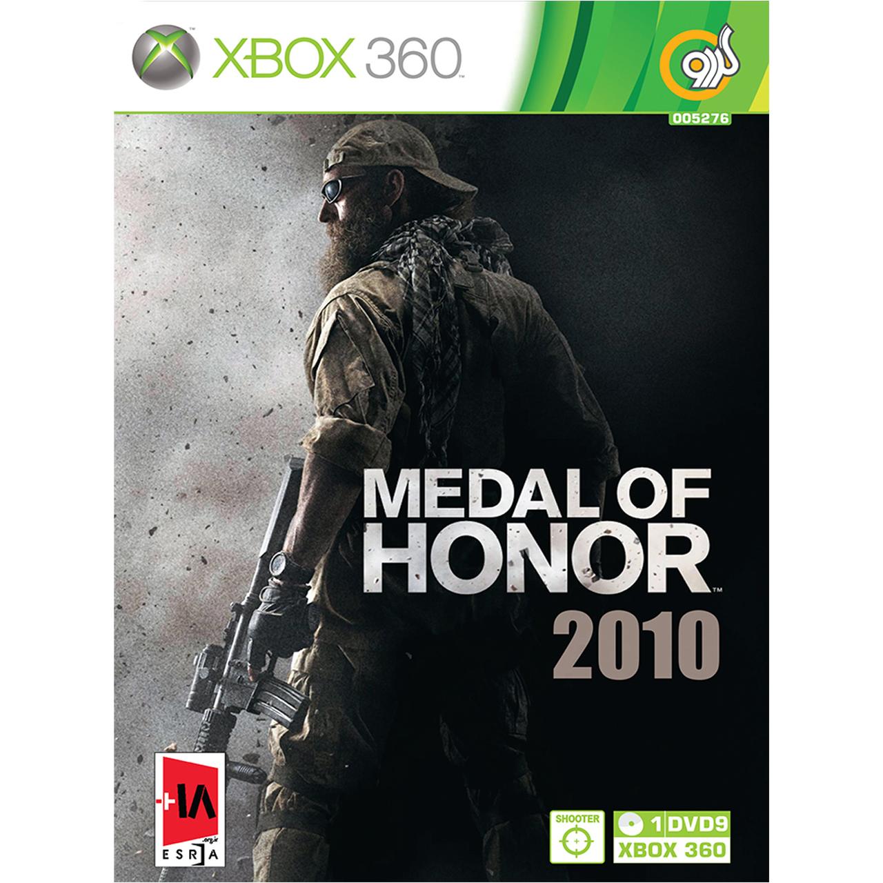 بررسی و {خرید با تخفیف}                                     بازی گردو Medal of Honor 2010 مخصوص XBOX 360                             اصل