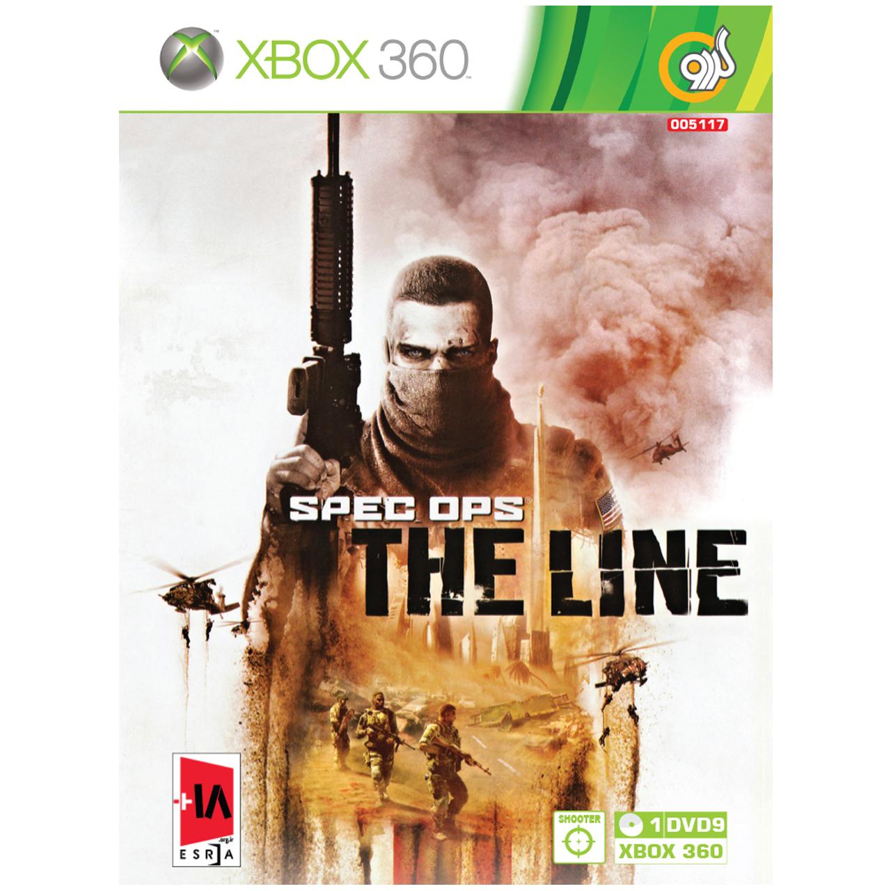بازی گردو Spec Ops The Line مخصوص XBOX 360