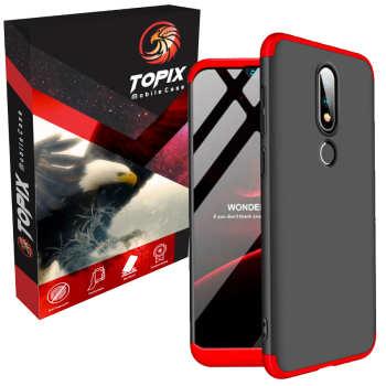 کاور تاپیکس مدل Hard  مناسب برای گوشی موبایل نوکیا 6.1 پلاس