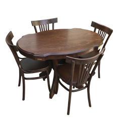 میز و صندلی ناهار خوری اسپرسان چوب مدل SM30