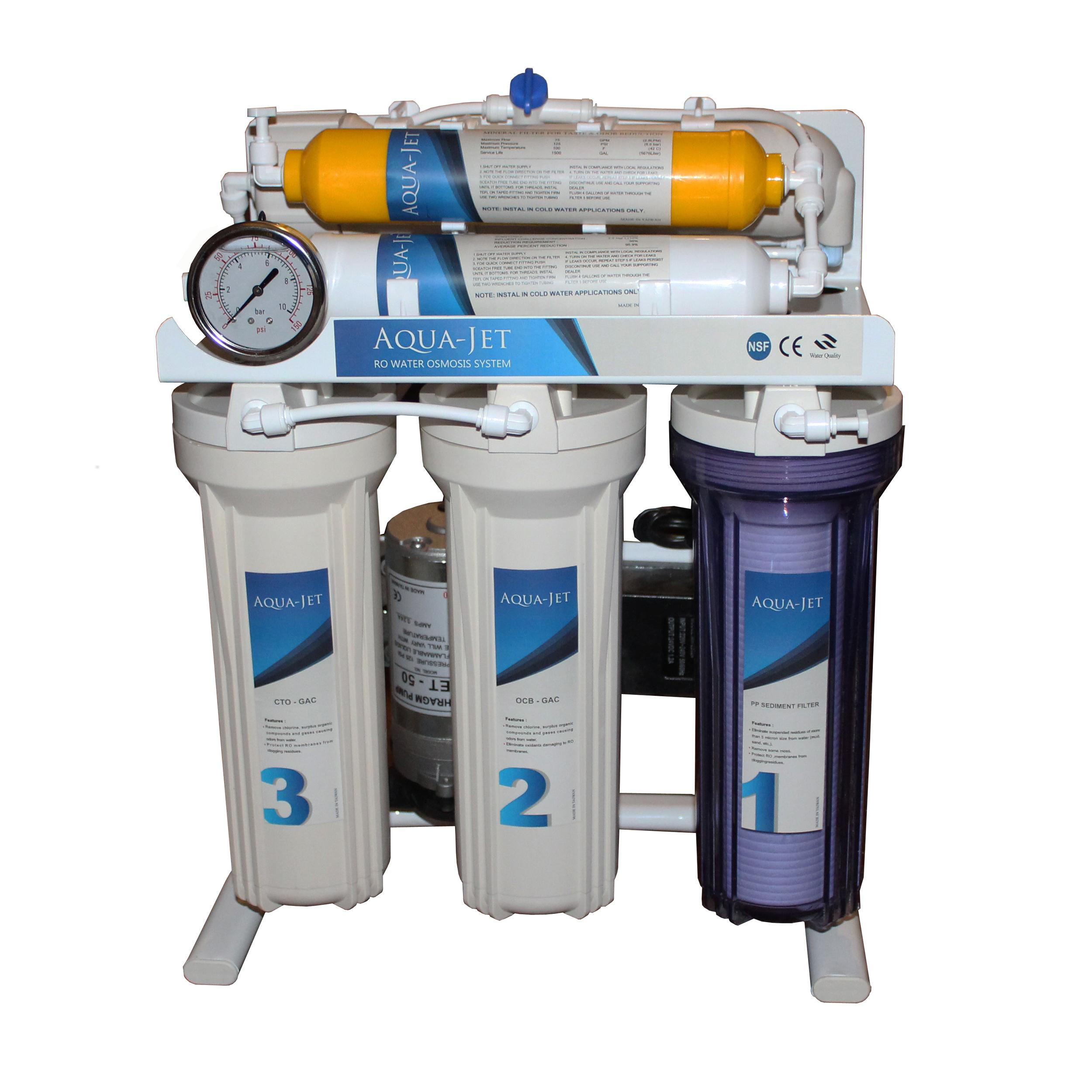 دستگاه کننده تصفیه آب خانگی آکوا جت مدل J620